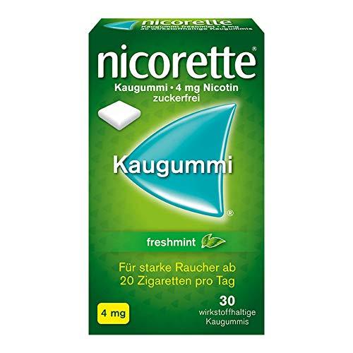 NICORETTE 4 mg freshmint Kaugummi 30 St Kaugummi