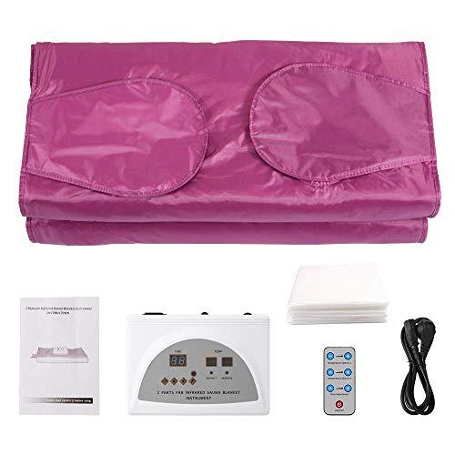 NACHEN Manta calefactora de Sauna infrarroja Manta calefactora de Sauna de Calor Digital infrarrojo lejano, Manta de Belleza Máquina de Belleza antienvejecimiento