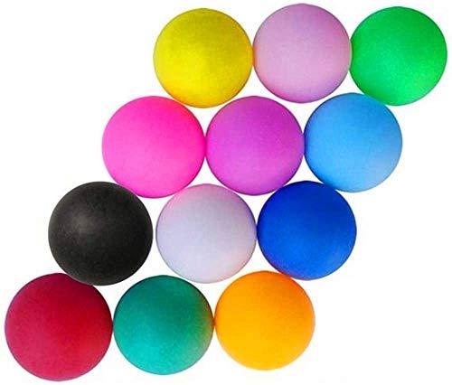 Limeow Tischtennisbälle Spaß Bälle Training Ping-Pong-Bälle Ping Pong Bälle für Tischtennis-Spieler Sind Geeignet für den Vergnügungspark Launch Machine Glücklicher Abgehobener Betrag 30 Stück