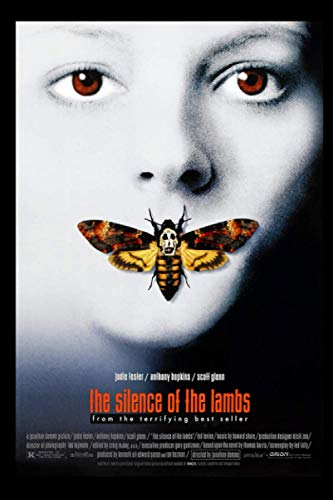 Silence of the lambs Notebook: (110 Pages, Lined, 6 x 9)