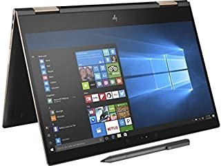 Newest HP Spectre x360-13t Quad Core(8th Gen Intel i7-8550U, 16GB DDR4, 512GB PCIe NVMe SSD, IPS micro-edge Touchscreen Corning Gorilla, Windows 10 Ink)Bang&Olufsen 13.3