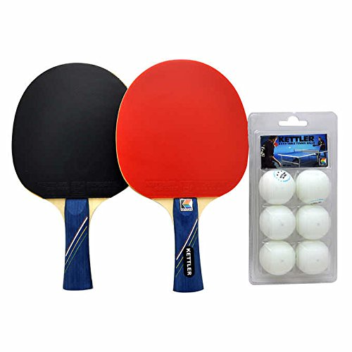 Review Kettler GTX85 Table Tennis 2 Paddles Set