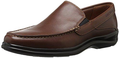 Cole Haan Men's Santa Barbara Twin Gore II Loafer, Harvest Brown Leather, 9.5 Medium US