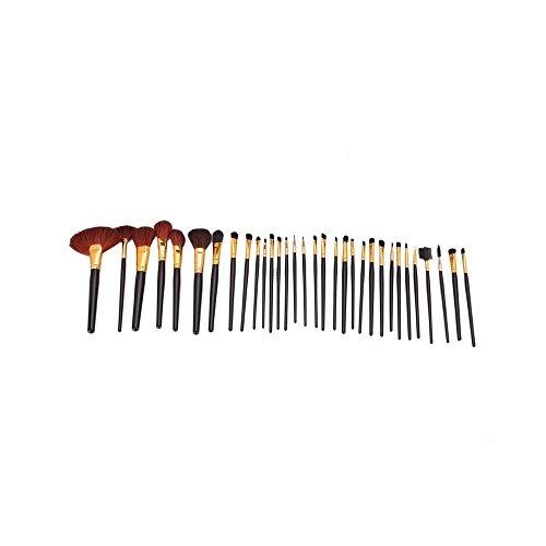 32 Pcs élégant Beauté Maquillage professionnel cosmétique Kit Brush Set avec étui gratuit