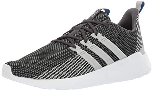 adidas mens Questar Flow Running Shoe, Grey/Grey/True Blue, 9 US