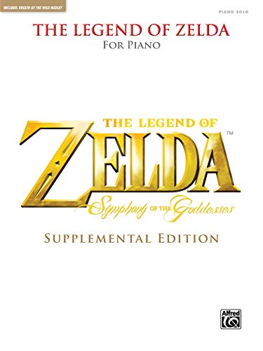The Legend of Zelda Symphony of the Goddesses (Supplemental Edition): Piano Solos