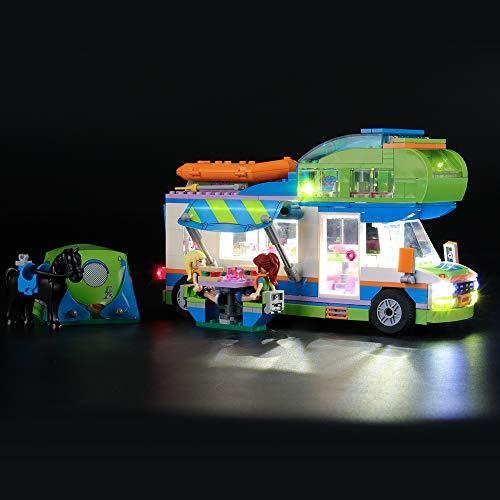 LIGHTAILING Licht-Set Für (Friends Mias Wohnmobil) Modell - LED Licht-Set Kompatibel Mit Lego 41339(Modell Nicht Enthalten)