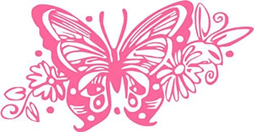 BUTTERFLY Vinyl Sticker Window Car Mirror Wall Tribal Insect 11 Colours