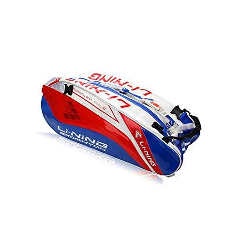 Badminton Racket Bag, Tennis Racket Bag, Shoulder-shoulder Racket Bag, Multi-function Mobile Sports Bag, Large Capacity, 6-pack Racket Bag, Waterproof And Dustproof. Outdoor badminton racket