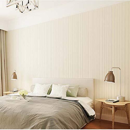 yhyxll Papel Pintado Moderno Simple sólido de Las Rayas Verticales del Color sólido Nordic Green Living Room Dining Room Wallpaper Impermeable 7