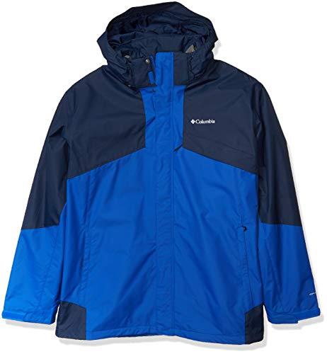 Columbia Men's Bugaboo Ii Fleece Interchange Jacket, Azul, Collegiate Navy, X-Large