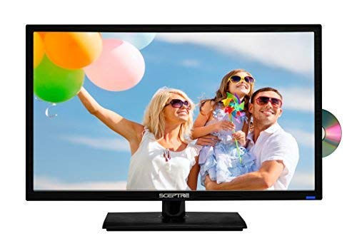 """Sceptre E246BD-F 24"""" 1080p 60Hz Class LED HDTV with DVD Player/True 16:9 Aspect Ratio View Your Movies as The Director Intended 1920 x 1080 Full HD Resolution"""