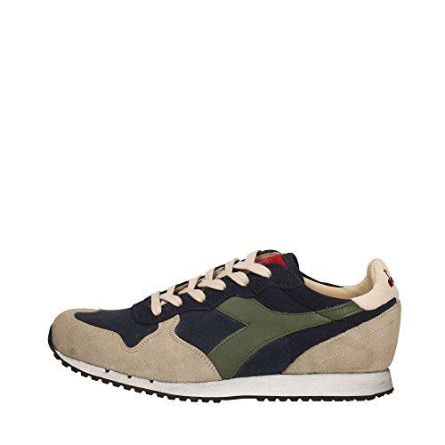 Diadora Heritage sneakers mid-top, look usato, per uomo e donna, Grigio (grigio), 44 EU