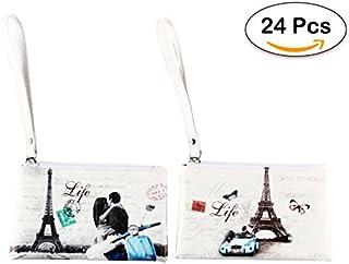"""Lote de 24 Portatodo Retro""""Paris"""" - Detalles"""