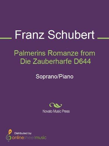 Palmerins Romanze from Die Zauberharfe D644 - Score (English Edition)