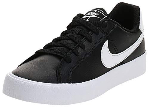 Nike Court Royale AC, Zapatillas Mujer, Negro (Black/White 001), 38 EU