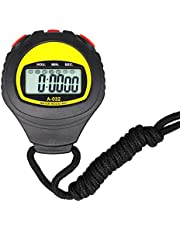 Groot display Electronic Stopwatch Professional lopende bus Timer Sport Scheidsrechter Coach Timer