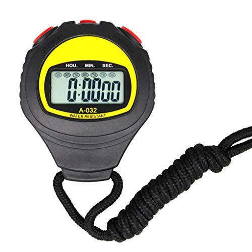 Kineca Ampio Display elettronico cronometro Professionale Timer in Esecuzione Timer Sport Arbitro Coach Chronograph