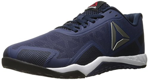 Reebok Men's ROS Workout TR 2-0 Cross-Trainer Shoe, Blue Ink/Collegiate Navy/Pewter, 7.5 M US