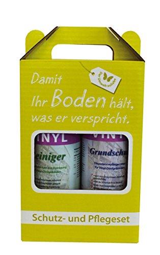 Bodentrend Online GmbH Reinigung & Pflege Set für Vinylboden/Vinylböden/PVC Belag