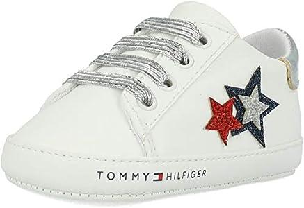 Tommy Hilfiger Crib Blanco/Azul/Rojo Textil EU 18
