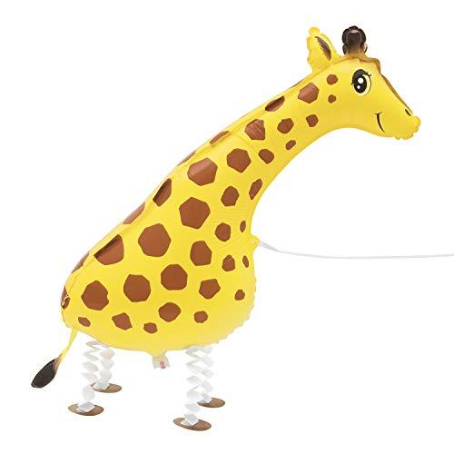 Unique Party 53650 - Palloncino a forma di giraffa, 53650, colore: Multicolore