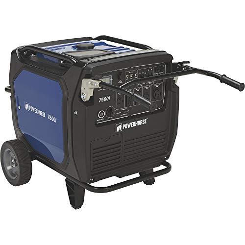 Powerhorse Inverter Generator — 7500 Surge Watts, 6500 Rated Watts Generators