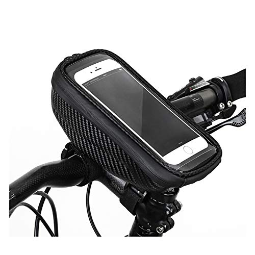 XICI Soporte Bolsa Movil Bicicleta, Bolsa Bicicleta Impermeable, Bolso Bicicleta Impermeable Y con Ventana para Pantalla Táctil De hasta 6.5''