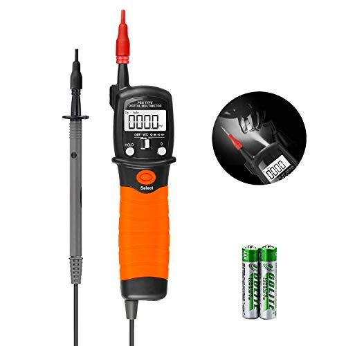 Digital Multimeter Durchgangsprüfer Multimeter Voltmeter, AC/DC Multi Tester Spannung,Strom, Widerstand,Durchgangsprüfung, für professionelle Anwender
