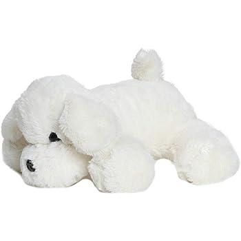 Babyjoys Dog Stuffed Soft Plush Toy 20 cm - White