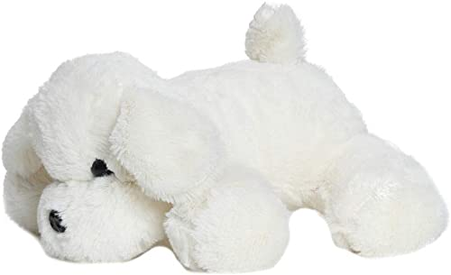 Babyjoys Dog Stuffed Soft Plush Toy 20 cm - White