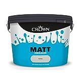 STX_377648 Crown Non Breath Easy Matt Emulsion 10L Soft Grey ()