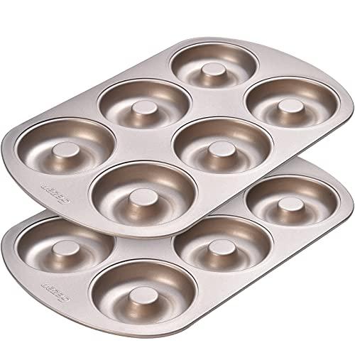 GEZAN 12 Cavity Non Stick Donut Baking Pan