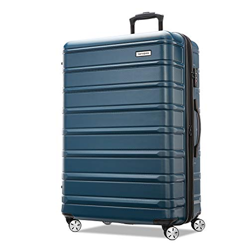 Samsonite Omni 2 Hardside Expandable Luggage with Spinner Wheels, Nova Teal, 3-Piece Set (20/24/28)