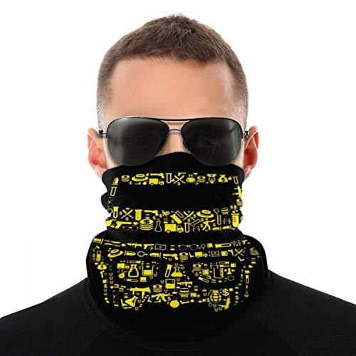 Breaking Bad Heisenberg Collage Variety Kopftuch Fahrrad Magic Headwear Neck Gaiter Face Bandana Schal