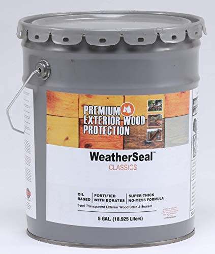 Continental Weatherseal Stain Natural Pine 5 Gallon