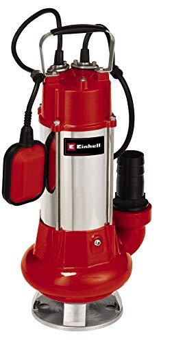 einhell GC-DP 1340 G Pompa per Acque Scure, 23.000 L/H, 1300 W, 230 V, Rosso