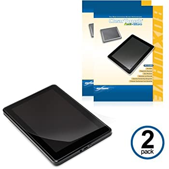 """BoxWave Amazon Kindle Fire ClearTouch Anti-Glare Screen Protector  Dual Pack with Cleaning Cloth and Applicator Card - Matte Anti-Fingerprint Screen Guard Cover for the 7"""" Multi-Touch Kindle Fire Screen"""