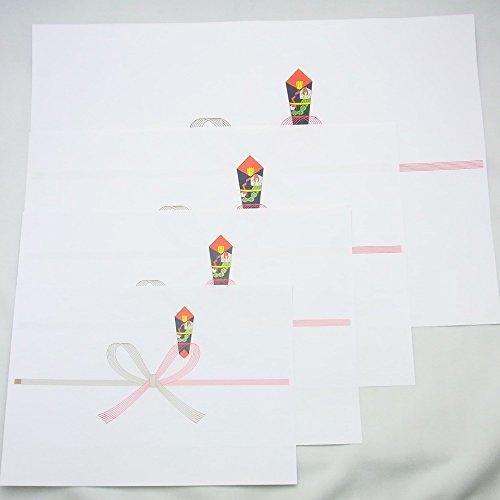 『マルアイ のし紙 祝 蝶結び 厚口 B5 100枚 ノイ-N1B5』のトップ画像