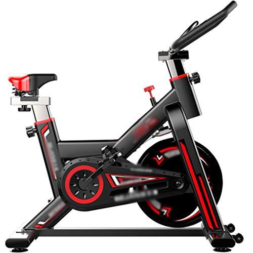 YHRJ Esercizio di Bicicletta Cyclette Diadora Bicicletta da Spinning silenziosa,Cyclette Dimagrante Mobile da casa,Bicicletta da Allenamento Regolabile per Ufficio,può sopportare 250 kg