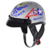 DOT Approved Motorcycle Helmet - Air Force (M)