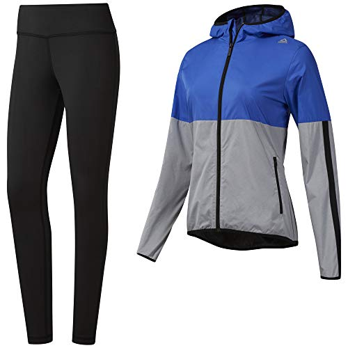 Reebok El Ts Sport Trainingsanzug, Damen, Schwarz (Black/Grey), 2XS