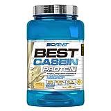 Best Casein Protein | Proteína de caseína de asimilación lenta con aminoácidos para desarrollo muscular | Proteína de caseína micelar en polvo | Proteína liberación lenta | 908 g (Vainilla caramelo)