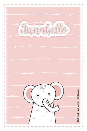Annabelle: Personalized Name Dot Grid...
