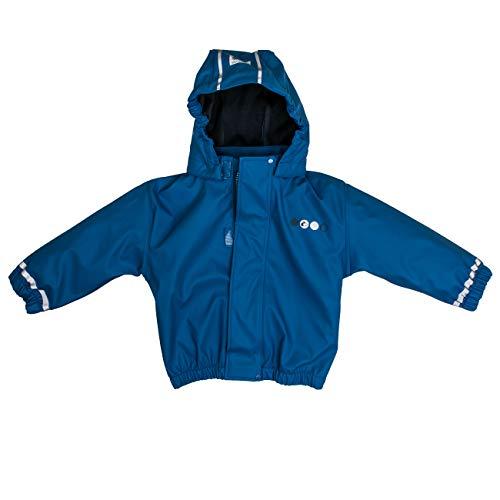 Salt & Pepper Baby-Jungen Jacket RB B Boys Uni Regenjacke, Blau (Blue 447), 86