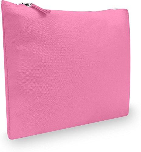 normani Accessory Case | Kosmetiktasche | Travelcosmetic | Kulturtasche | Schminktasche | Make Up Tasche | Reisetasche | Aufbewahrungstasche - Modell I Farbe Pink Größe S