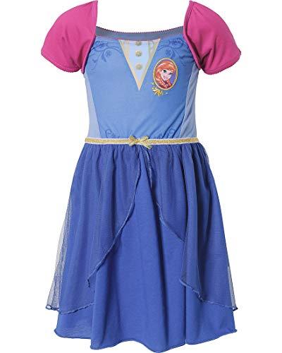Disney Eisprinzessin Frozen Anna Nachthemd Gr. 104, 110, 116, 122/128 Größe 116