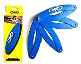 Cercle de pétanque pliant bleu marqué Obut