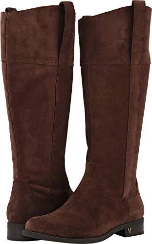 Vionic Women's Country Downing Boot Knee High Chocolate 5 M US