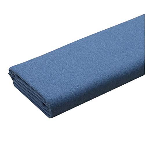 Yimihua Denim Tissu Tissu Denim Épais Faire Libération de Sable Élasticité Doux Coton Veste en Jean Chaussures Pantalons Vêtements pour Hommes et Femmes en Tissu (Color : Sky Blue, Size : 1.4m X 1m)